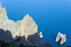 Karadag reserve (Crimea, Ukraine) Royalty Free Stock Photography