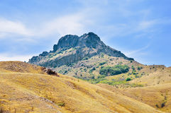Karadag volcano, Ukraine Royalty Free Stock Photography