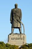 Karadjordje Petrovic的纪念碑 免版税库存照片