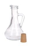 karaffexponeringsglas Arkivbild