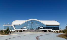 Karaganda, Казахстан - 1-ое сентября 2016: Karaganda ArenaIce p Стоковые Фотографии RF