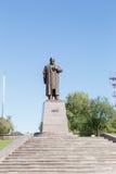 Karaganda, Kazakhstan - September 1, 2016: A monument to Abai Ku Royalty Free Stock Image