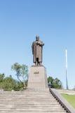 Karaganda, Kazakhstan - September 1, 2016: A monument to Abai Ku Stock Photos