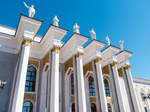 Karaganda, Kazakhstan - September 1, 2016: Palace of culture of. Miners Royalty Free Stock Images