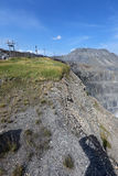 Karagaysky careers. pit mining Stock Photography
