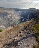 Karagaysky careers. pit mining Stock Photos