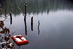 Karagol (lac noir), Artvin Gilet gonflable Images stock