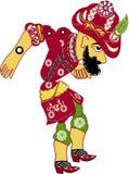 Karagoz Puppet. (Historical Turkish Shadow Play Character Royalty Free Illustration