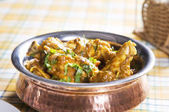 Karahi Chicken Royalty Free Stock Photography
