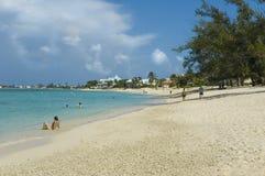 karaibów na plaży Fotografia Royalty Free