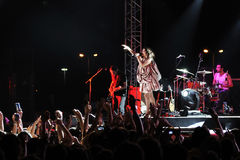 karaibrahimgil koncertowi zero Zdjęcie Stock