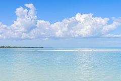 Karaibscy błękity Obraz Royalty Free