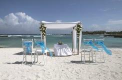Karaibska Ślubna dekoracja fotografia royalty free