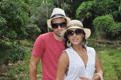Karaibska para zdjęcia stock