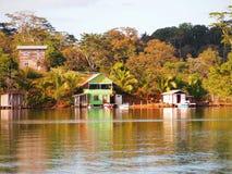 karaibska wioska zdjęcie stock