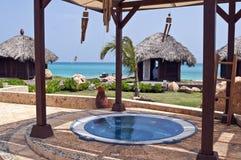 karaibski bud jacuzzi masaż Zdjęcie Stock
