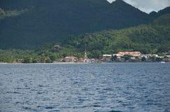 Karaibski kościół na plaży fotografia royalty free