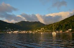 Karaibski ma?y wioski ?wi?ty Vincent zdjęcia royalty free