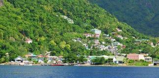 Karaibski miasteczko Obraz Stock