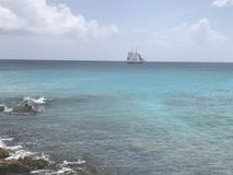 Karaibski statek Zdjęcie Royalty Free