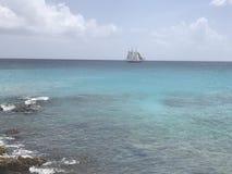 Karaibski statek Obrazy Stock