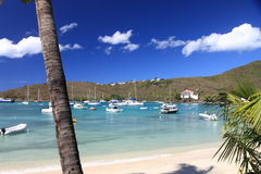 karaibski zmierzch Fotografia Royalty Free