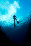 karaibskie wody Fotografia Royalty Free