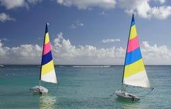 karaiby żeglując Obraz Royalty Free