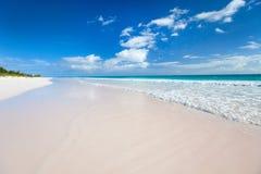 Karaiby morze i plaża Fotografia Royalty Free