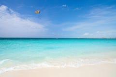 Karaiby piękna plaża Zdjęcie Royalty Free