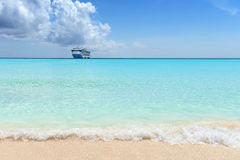 Karaiby plaża Obrazy Stock