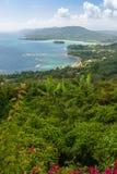 Karaiby plaża na północnym wybrzeżu Jamajka Obrazy Royalty Free