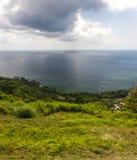 Karaiby plaża na północnym wybrzeżu Jamajka Fotografia Royalty Free