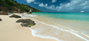 Karaiby plaża Zdjęcie Royalty Free