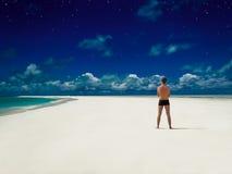 Karaiby plaży sen Obraz Royalty Free