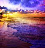Karaiby sen plaża Zdjęcia Stock
