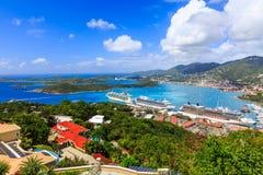 Karaiby, St Thomas Fotografia Royalty Free