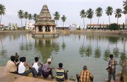 Karaikudi - Chettinad - Tamil Nadu -印度 免版税库存照片