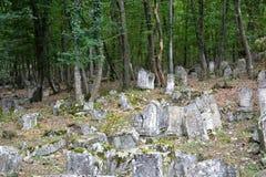Karaimes forntida kyrkogård Royaltyfria Foton