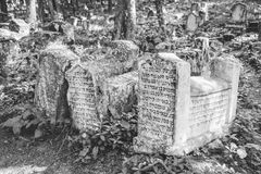 Karaite Cemetery, Crimea Royalty Free Stock Photos