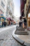 Karaköy district in snow Stock Photos