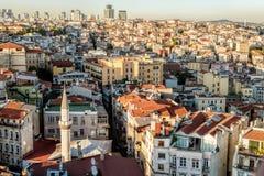 Karaköy panoramic view Royalty Free Stock Image
