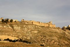 Karak castle in Jordan Stock Photography