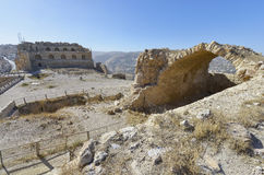 Karak, Jordanie image libre de droits