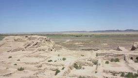 Karakalpakstan Toprak Kala Fortress video estoque