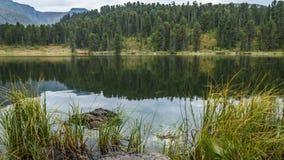 Karakol湖 免版税库存图片