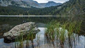 Karakol湖 免版税图库摄影