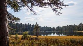 Karakol湖 库存图片