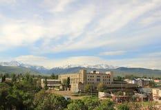 Karakol city in Kyrgyzstan Royalty Free Stock Image