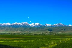 Karakol Gorge Kyrgyzstan 30 royalty free stock images